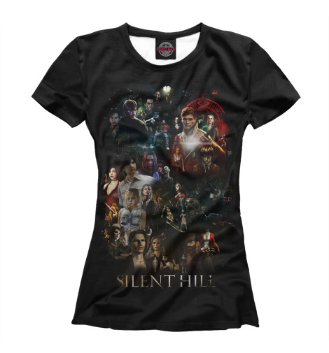 Футболка Print Bar Silent Hill футболка print bar heather mason silent hill