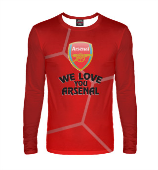 Мужской лонгслив We Love You Arsenal