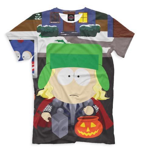 Мужская футболка Кайл