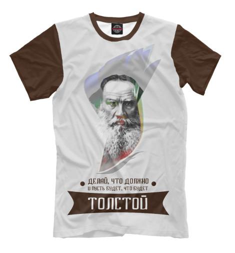 Футболка Print Bar Лев Толстой