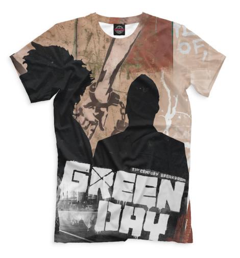 Купить Мужская футболка Green Day GRE-859755-fut-2