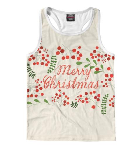 Майка борцовка Print Bar Christmas Berries