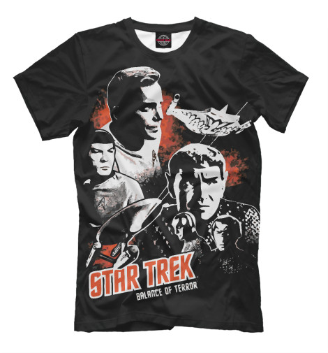 Футболка Print Bar Star Trek худи print bar star trek