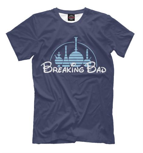 Футболка Print Bar Breaking Disney футболка рингер printio breaking disney