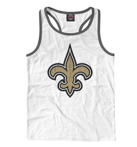 Майка борцовка Print Bar New Orleans Saints худи print bar new orleans saints