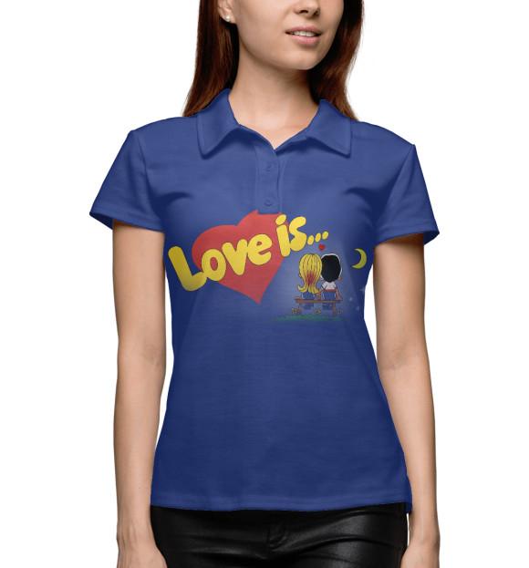Купить Поло для девочки Love is APD-926440-pol-1