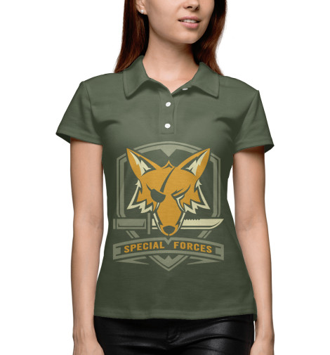 Поло Print Bar Special Forces Foxhound майка print bar special forces foxhound