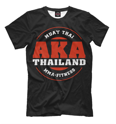 Футболка Print Bar AKA Thailand стулья для салона thailand such as