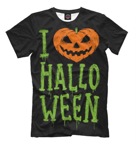 Футболка Print Bar I Love Halloween худи print bar i love halloween