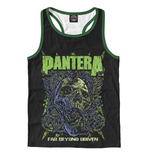 Майка борцовка Print Bar Pantera майка print bar pantera skull and snake