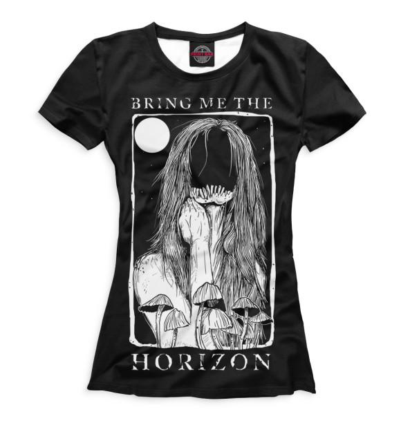 Купить Женская футболка Bring Me The Horizon BRI-330569-fut-1