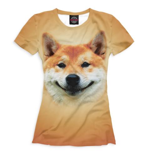 Женская футболка Сиба-ину