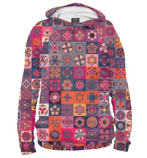 Худи Print Bar Цветочные лоскуты