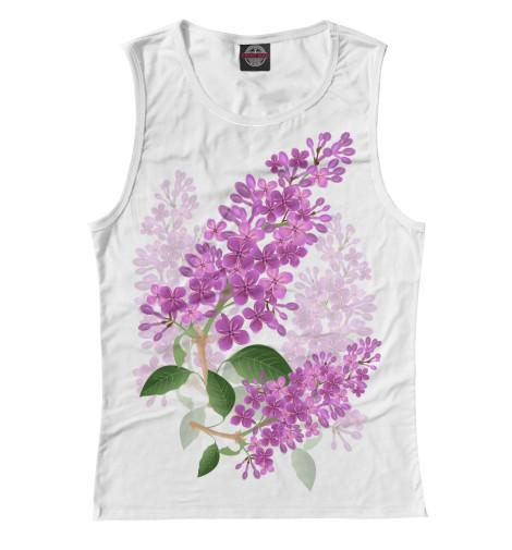 Майка Print Bar Lilac lilac