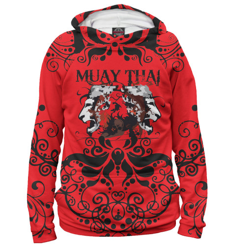 Худи Print Bar Muay Thai свитшот print bar muay thai boxing