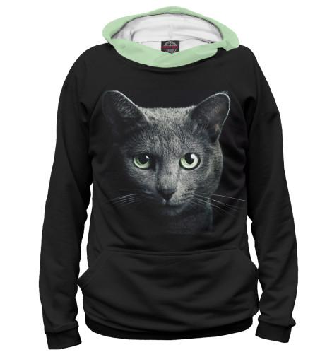 Купить Женское худи Кот CAT-343965-hud-1