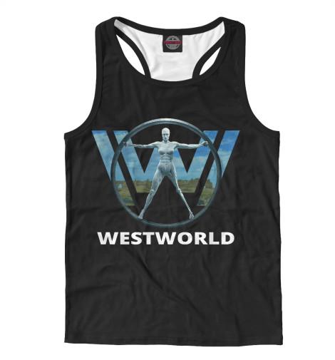 Майка борцовка Print Bar Westworld logo майка борцовка print bar honda logo