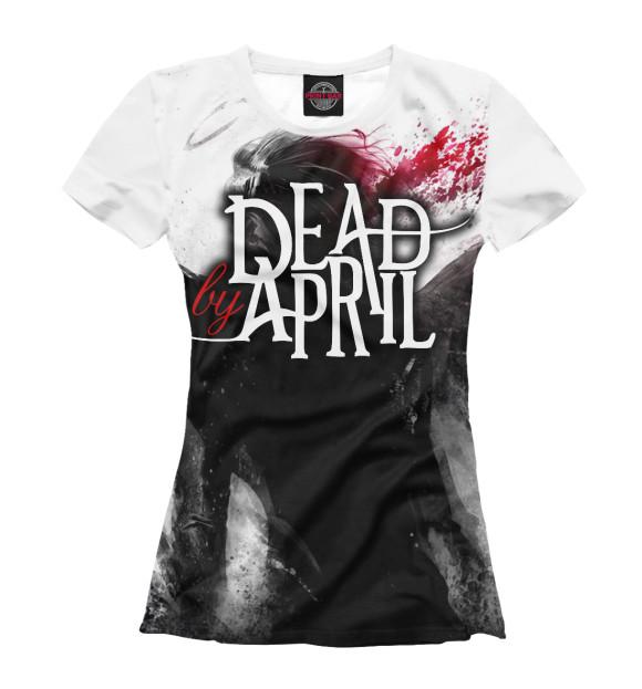 Купить Женская футболка Dead by April MZK-565862-fut-1