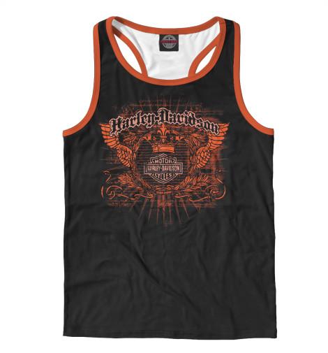 Майка борцовка Print Bar Легендарный Harley - Davidson