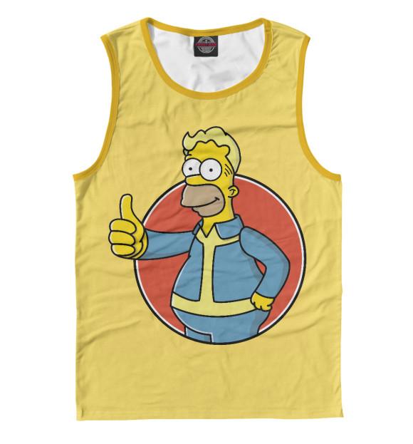 Купить Мужская майка Homer Boy SIM-233116-may-2