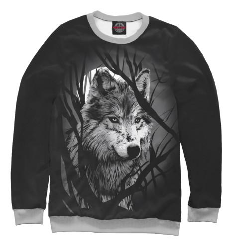 Свитшот Print Bar Grey Wolf свитшот print bar triangle orange grey