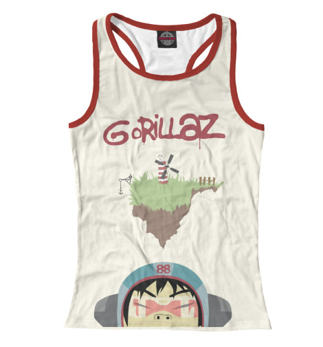 Купить Женская майка-борцовка Gorillaz GLZ-911395-mayb-1