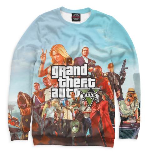 Свитшот Print Bar Grand Theft Auto V