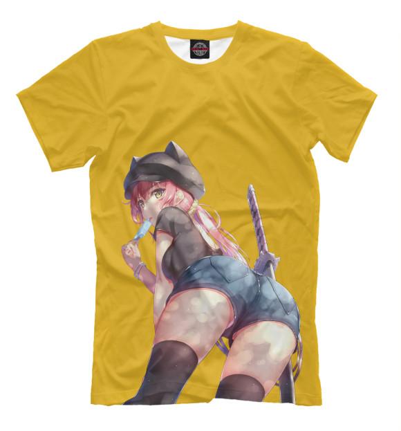 Купить Мужская футболка Девушка с мороженым ANR-136734-fut-2