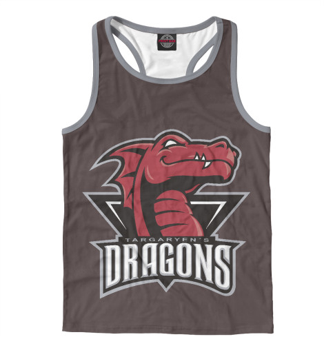 Майка борцовка Print Bar Targaryen Dragons dragons фигурка toothless сидящий