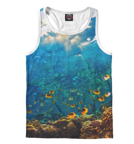 Майка борцовка Print Bar Коралловый риф