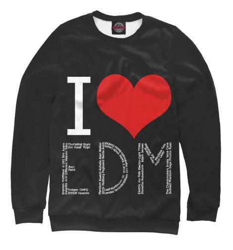 Свитшот Print Bar I love EDM