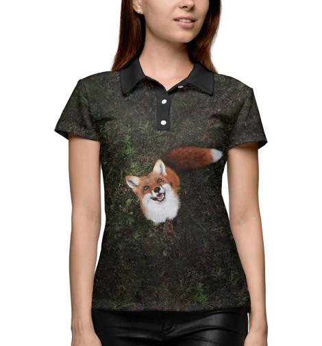 Купить Поло для девочки Лиса FOX-101123-pol-1