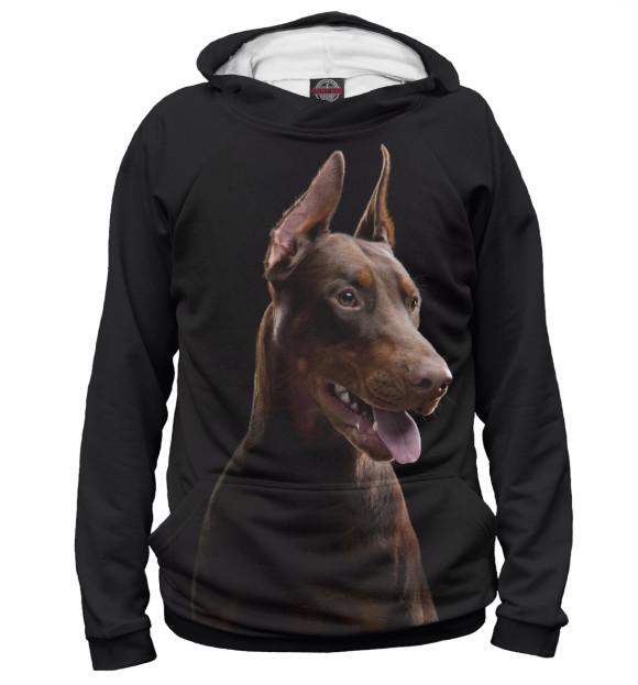 Купить Худи для девочки Пес DOG-997876-hud-1