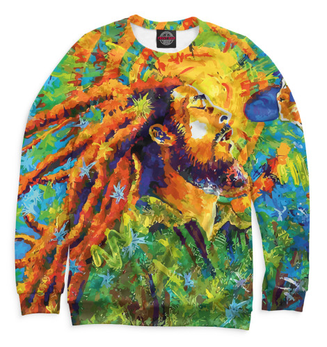 Купить Женский свитшот Bob Marley BOB-484938-swi-1