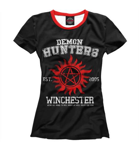 Купить Женская футболка Demon Hunters SVE-141612-fut-1