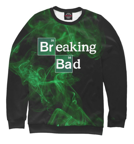 Свитшот Print Bar Breaking Bad блокнот breaking bad во все тяжкие