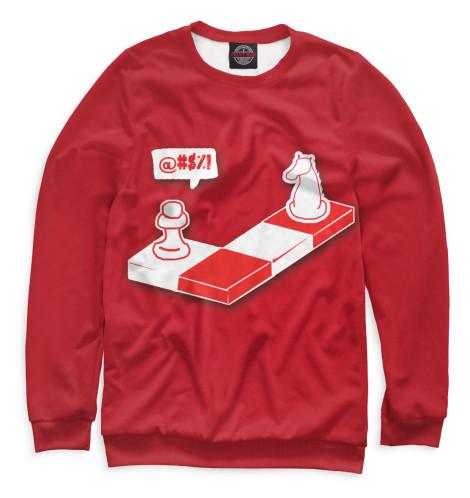 Свитшот Print Bar Шахматы дорожные шахматы