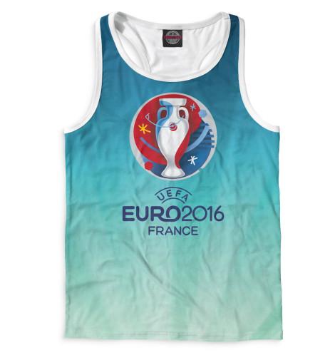 Мужская майка-борцовка Евро 2016