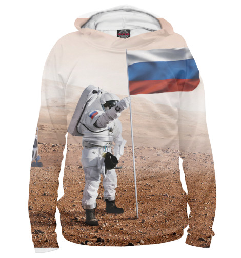 Худи Print Bar Русский космос худи print bar русский стиль