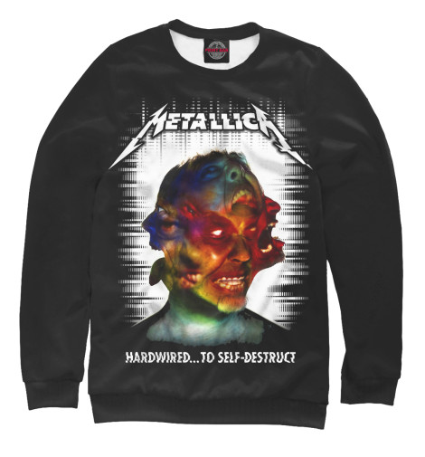 Свитшот Print Bar Metallica Hardwired...To Self-Destruct