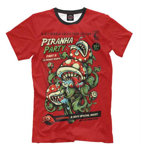 Футболка Print Bar Piranha Party кеды piranha кеды