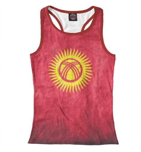 Купить Майка для девочки Флаг Кыргызстана CTS-808152-mayb-1