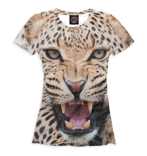 Купить Футболка для девочек Леопард HIS-720693-fut-1