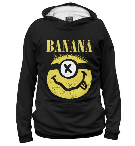 Худи Print Bar Banana Nirvama поло print bar damask banana