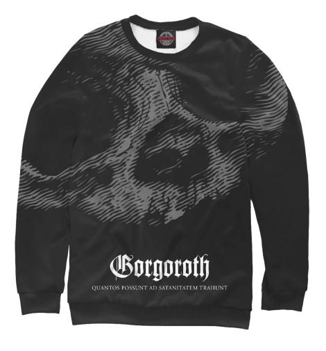 Фото - Мужской свитшот Gorgoroth от Print Bar белого цвета