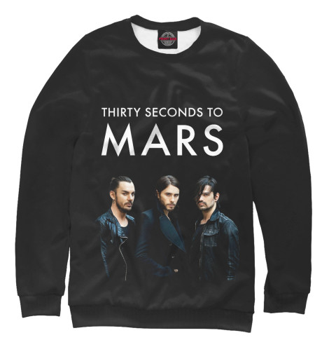 Свитшот Print Bar 30 Seconds to mars майка борцовка print bar 30 seconds to mars