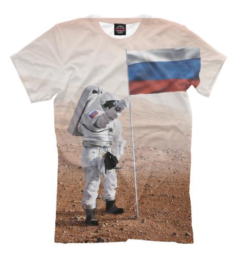 Футболка Print Bar Русский космос футболка print bar русский стиль