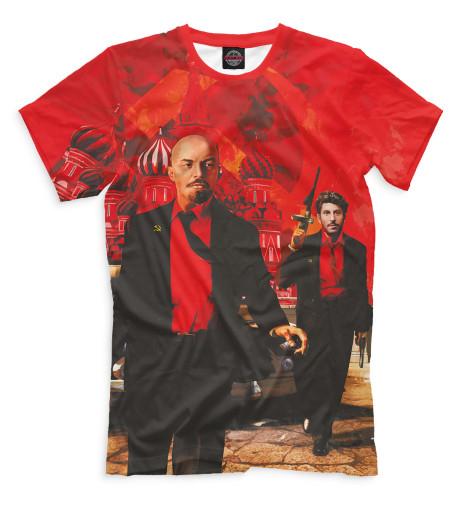 Мужская футболка Ленин и Сталин