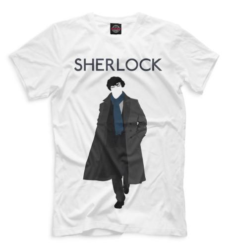Мужская футболка Шерлок