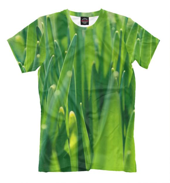 Купить Мужская футболка Трава MAC-996666-fut-2